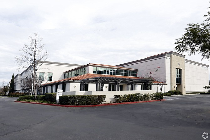 Mission Oaks Corporate Center at 5300 Adolfo Road in Camarillo.