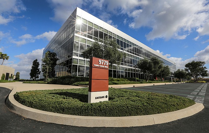 Apple Inc. will lease a second building in UTC to accommodate its growing workforce in San Diego. Photo by Jamie Scott Lytle.