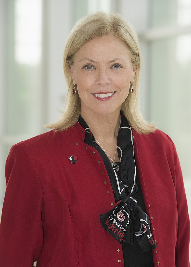 CSUN's Dianne Harrison.