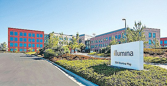 Illumina Inc. is looking to get Key approval from U.K. on Pacific Biosciences acquisition. Photo by Jamie Scott Lytle.