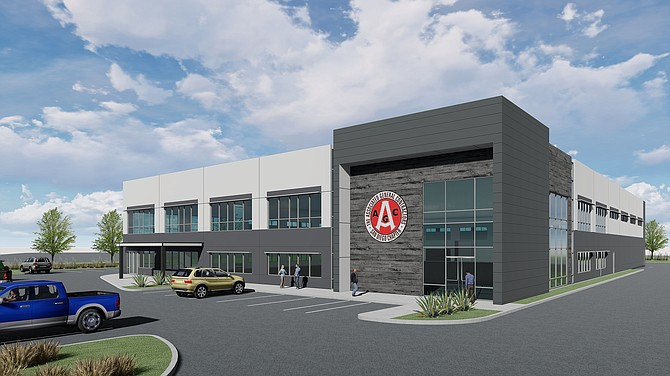 A new training center is being built in Lakeside by the San Diego chapter of the Associated General Contractors of America. Rendering courtesy of the Associated General Contractors of America San Diego Chapter.