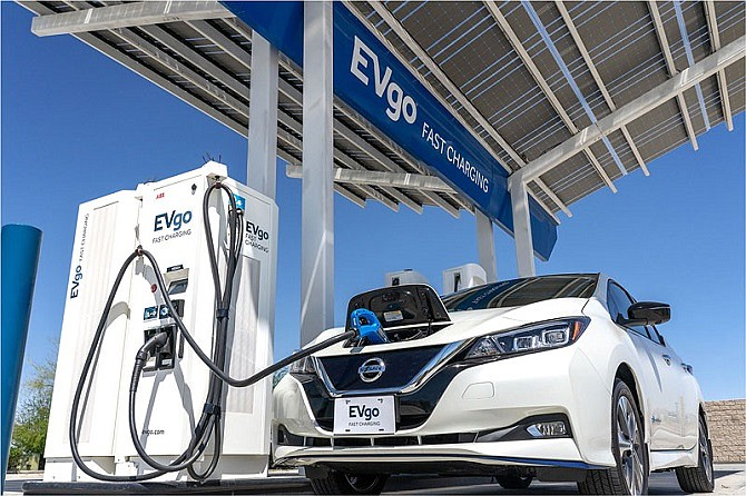 EVgo now offers drivers of Nissan electric vehicles free charges at any of its charging locations.