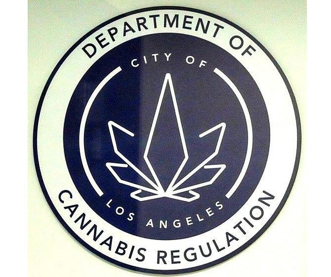 The Los Angeles Department of Cannabis Regulation seal.