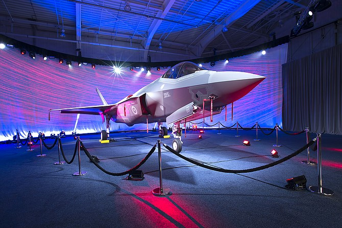 Lockheed Martin rolls out its first F-35 for Australia in 2014. Photo courtesy of Lockheed Martin Corp.