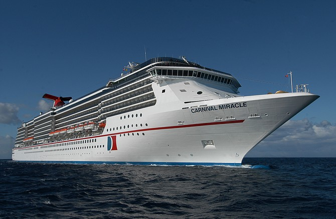 Seven years since it last departed from the Port of San Diego, Carnival Cruise Line launched its winter schedule abroad the Carnival Miracle the first weekend of December. Photo courtesy of Carnival Cruise Line.