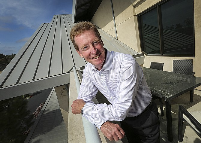 Neurocrine CEO Kevin Gorman said the deal with Xenon strengthens Neurocrine's growing pipeline. Photo courtesy of Jamie Scott Lytle.