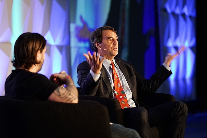 Tim Draper at the 2019 Crypto Invest Summit downtown.