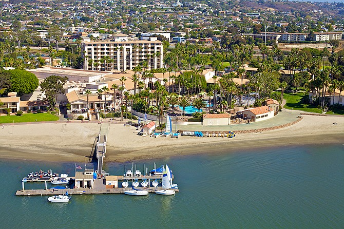 George Allen, Noble House area director of sales and marketing, said San Diego Mission Bay Resort's location is ideal for both family vacationers and business travelers. Photo courtesy of Pebblebrook Hotel Trust.