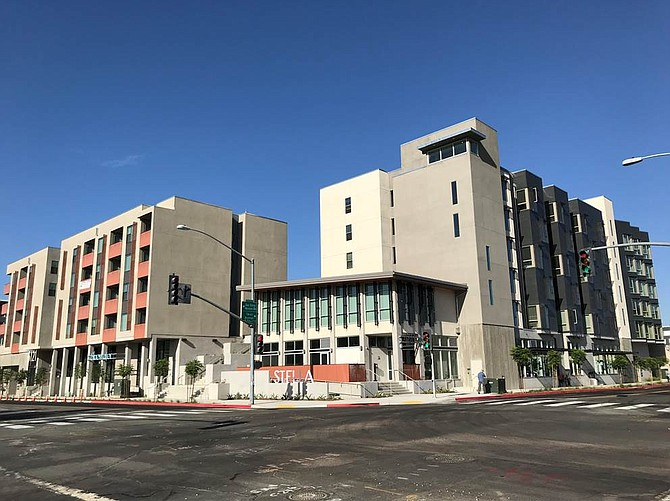 A two building affordable housing project by Affirmed Housing has opened in Grantville. Photo courtesy of Affirmed Housing.