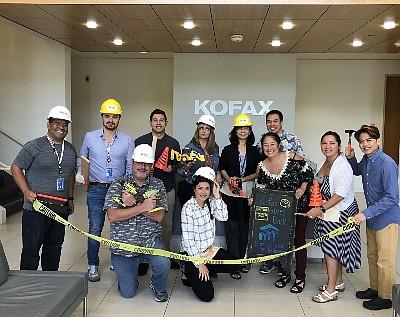 Kofax Employees, Habitat for Humanity day