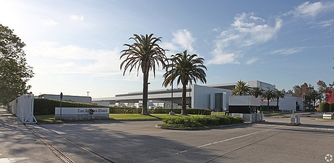 L.A. Times printing plant at 200 E. 8th St. sold for $240 million.
