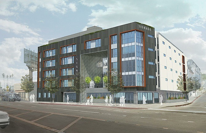 The fully entitled site of a planned six-story, 119-unit project in West L.A. sold for $14 million.