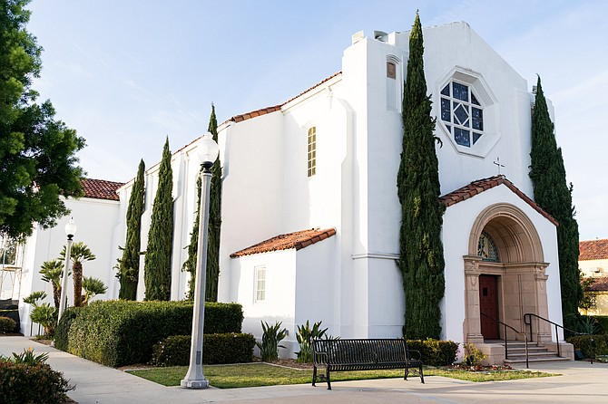 The North Chapel at Liberty Station will be renovated by 828 Venue Management Co. Photo courtesy of 828 Venue Management Co.