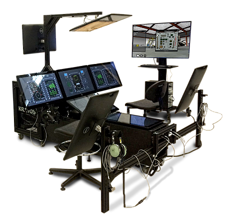 The Kratos Maintenance Blended Reconfigurable Aviation Trainer. Photo courtesy of Kratos Defense & Security Solutions Inc.