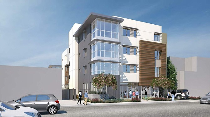Rendering of The Angel project at 8547-8549 N. Sepulveda Blvd. in North Hills.