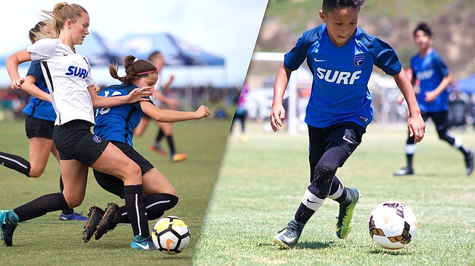 Surf Cup Sports, together with San Diego Surf Soccer Club, draws more than 200,000 participants to the city of San Diego through its youth sports events and tournaments, according to the organization. Photos courtesy of San Diego Surf Cup Sports.