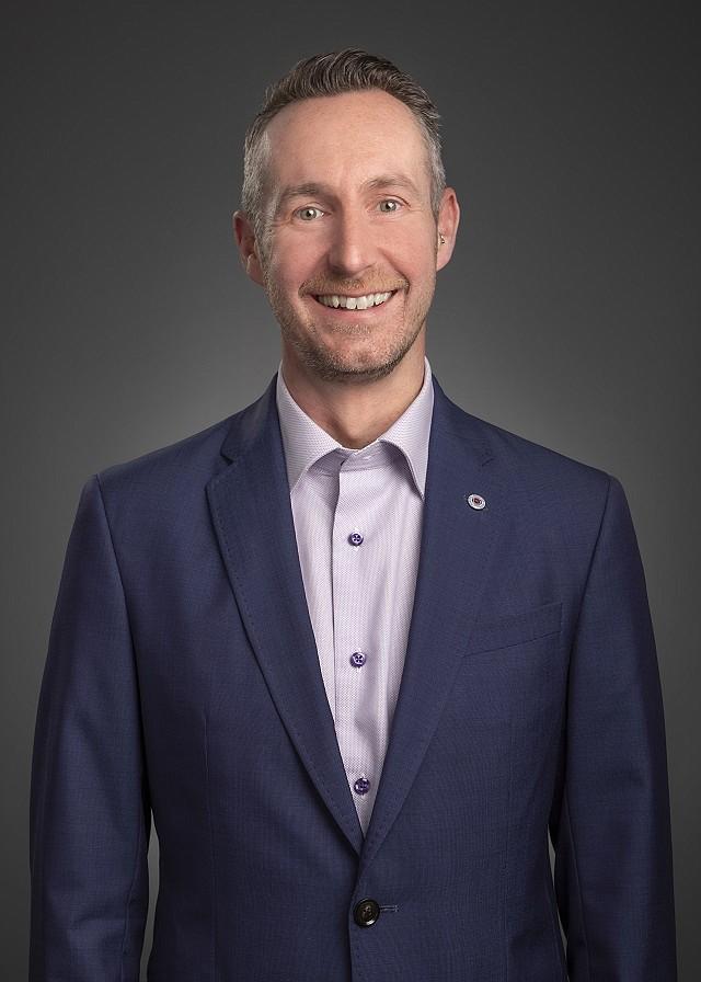 David Baird, new COO, Cumming construction consultancy