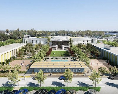 Rendering: EF Education First Costa Mesa campus