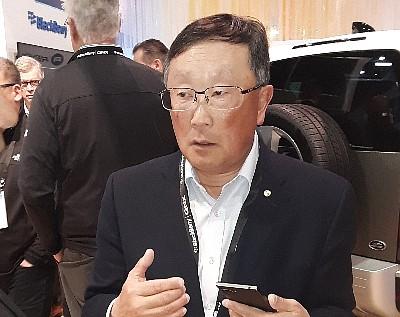 John Chen at CES