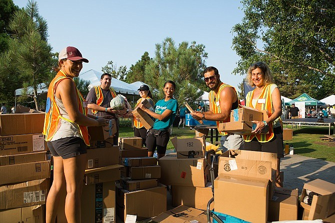 L.A. Works has seen an 85% upswing in company requests for volunteer programs.