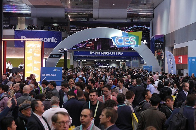 CES 2020 drew more than 170,000 attendees, down from a record 184,279 in 2017.
