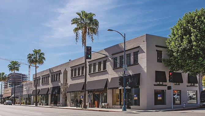 Optimus Properties bought 9701-9725 S. Santa Monica Blvd. for $15 million.