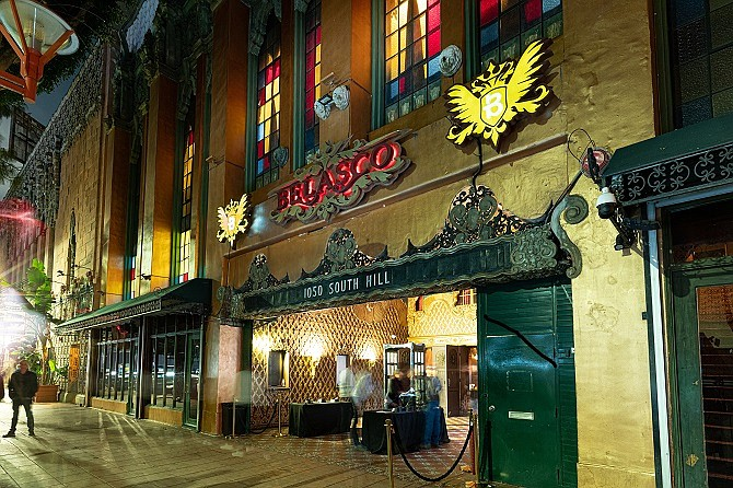 Belasco Theater in downtown Los Angeles