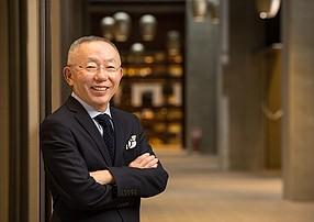Japanese clothing magnate Tadashi Yanai