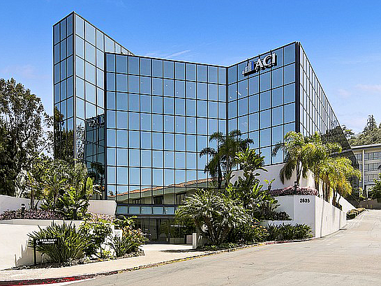 Among recent office sales was this 42,160 square-foot building in Mission Valley acquired in January by Woodlark LLC for $8.5 million. Photo courtesy of Marcus & Millichap.
