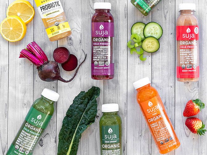 Suja products are available direct-to-consumer on SujaJuice.com, among other retail and e-commerce outlets, according to the company. Photo courtesy of Suja Life LLC.