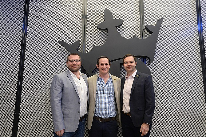 DraftKings Co-Founder Matt Kalish, CEO and Co-Founder Jason Robins and Co-Founder Paul Liberman.