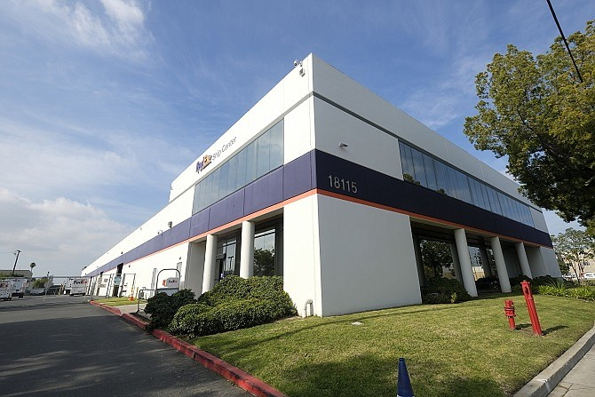 The property at 18115 S. Main St. in Carson is part of the 5.4 million square feet owned by Rexford Industrial.