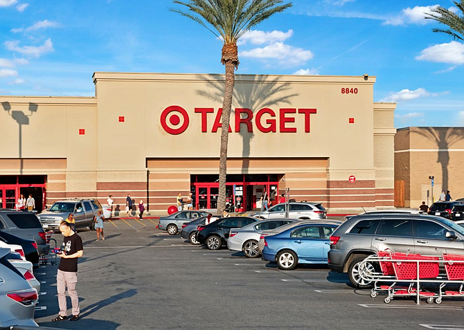 A Target-anchored center in Northridge is one of the properties sold by Paragon Commercial Group.