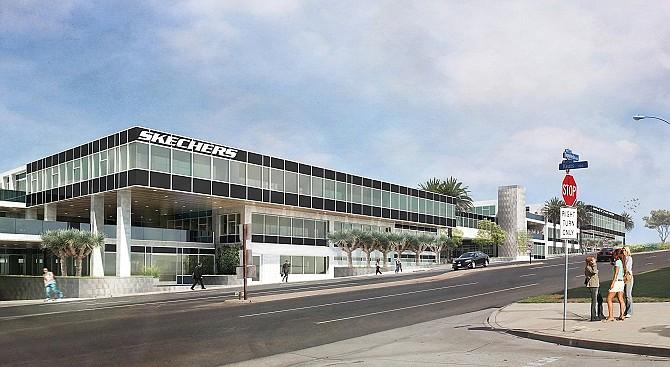 Skechers' headquarters in Manhattan Beach.