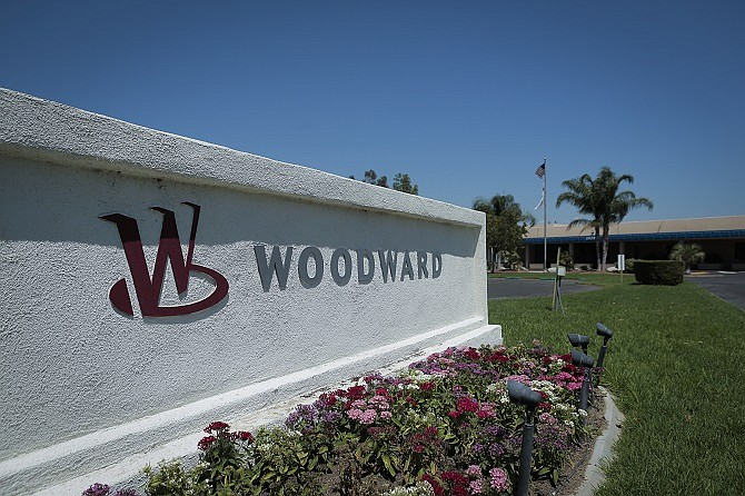 Woodward, which has operations in Monrovia and Santa Clarita, will join with Hexcel Corp.