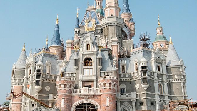 Castle at Shanghai Disneyland.