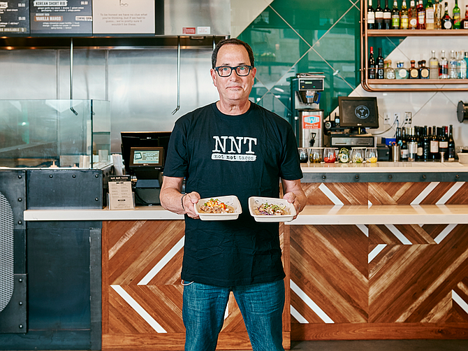 "Photo courtesy of Grain and Grit Collective Inc. ""…We absolutely have a secret weapon in Sam Zien, aka ""Sam the Cooking Guy (pictured above),"" said Grain and Grit CEO Michael Joseph DiNorscia about Grain and Grit's success."