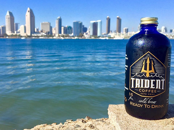 Photo courtesy of Trident Coffee Roasters. Trident Coffee Roasters Tap Room & Brewery in Imperial Beach carries coffee from 11 countries, according to the company.