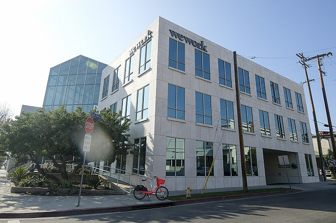 WeWork's location in West Los Angeles.