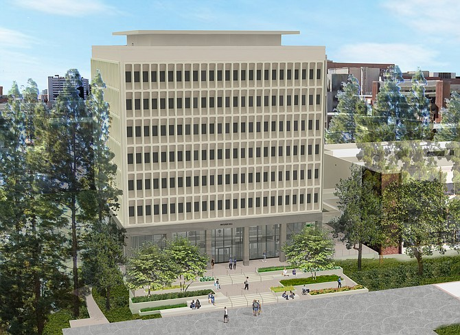 Pritzker funding will be used to renovate UCLA's Psychology Tower.