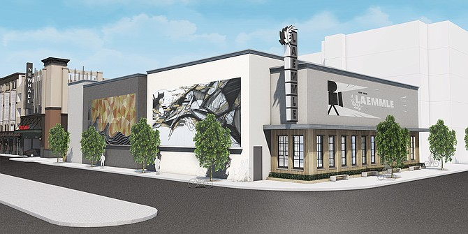 Laemmle's Newhall multiplex will open this summer.