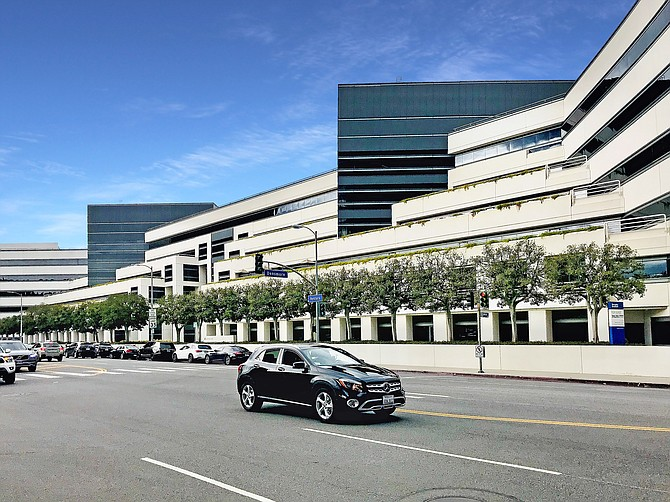 Office building at 15821 Ventura Blvd. in Encino, where NAI Capital maintains its headquarters.