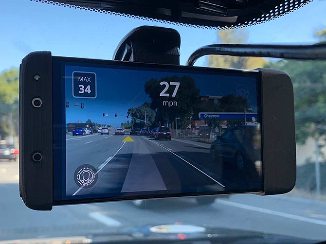 Photo courtesy of Comma.ai. According to Comma.ai, Openpilot can steer, accelerate, and brake automatically for other vehicles within its lane.