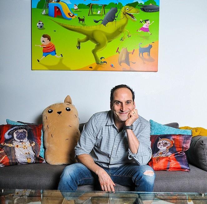 Elan Lee, Co-Founder, Exploding Kittens