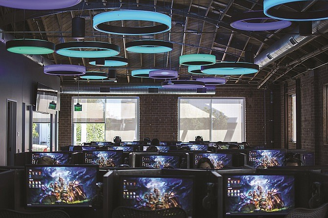 Riot Games' campus in West L.A. is 300,000 square feet.