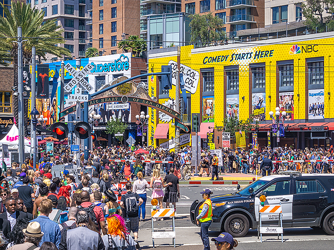 Photo courtesy of San Diego Convention and Visitors Bureau.