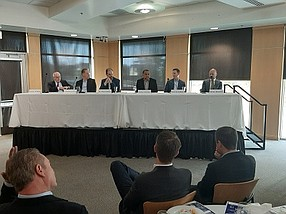 Panel at California Lutheran University in Thousand Oaks.