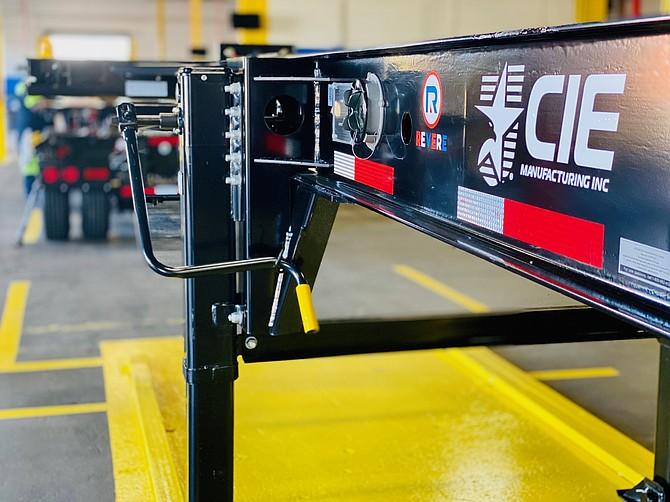 CIE Manufacturing Inc., based in South Gate, manufactures truck chassis.