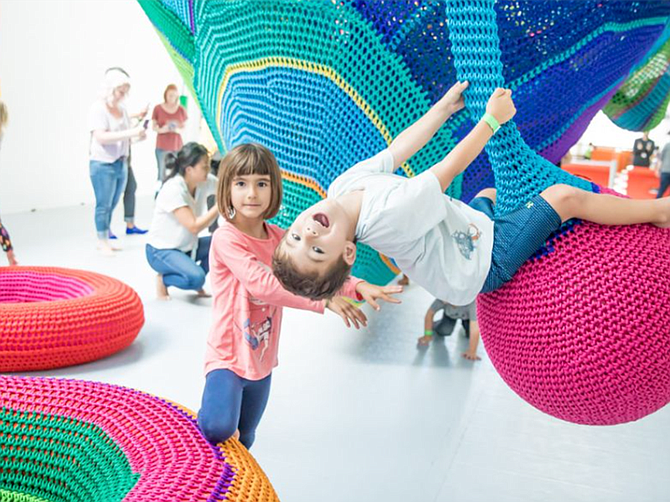 """Photo courtesy of The New Children's Museum. The New Children's Museum welcomed 3,828 visitors in February last year through the """"Museum Month"""" pass and 6,376 kids in October 2019 through the """"Kids Free"""" program, said a representative."""