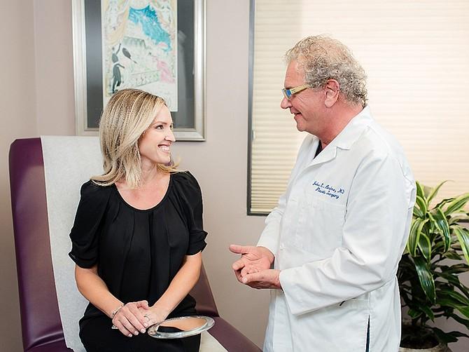 Photo courtesy of  La Jolla Cosmetic Surgery Centre Inc. Johan E. Brahme, MD with actual LJCSC patient.